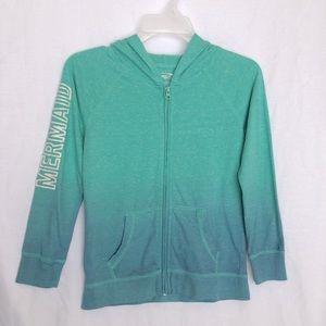 🍌CLEARANCE!- EUC- MTA Sport Girls Mermaid hoodie